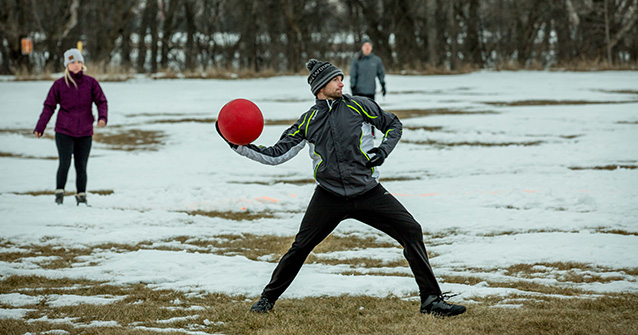 Winter Kickball