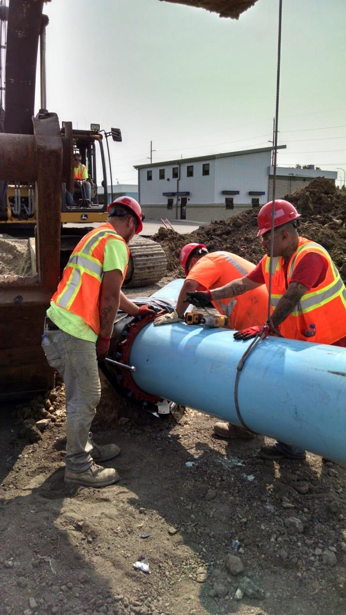 Watermain installation