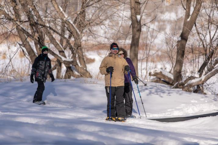 Cross Country Skiing and Snowshoes