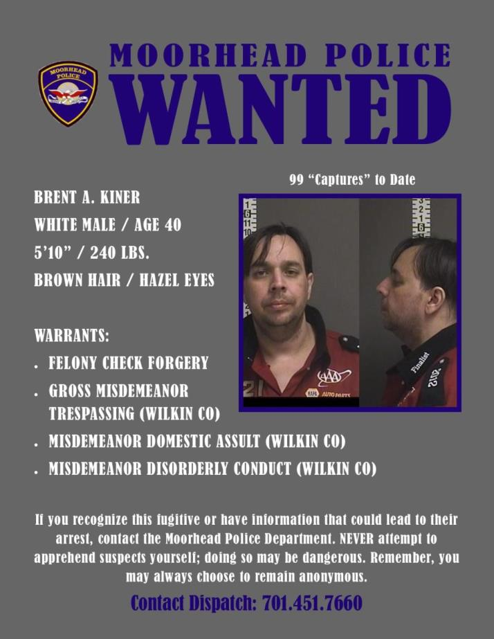 Wanted Wednesday September 18 - Kiner