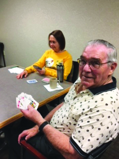 Senior Connections Card Players